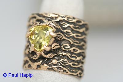 Gold ring, Kelp/seaweed band