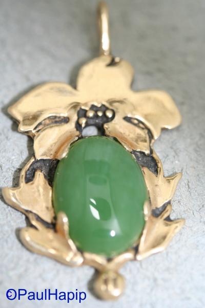 Art Nouveau, Siberian Jade